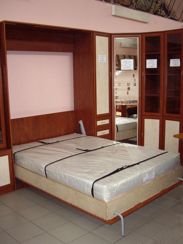 Кровать подъемная 1400 мм (горизонтальная) Кровать подъемная 1400 мм (горизонтальная